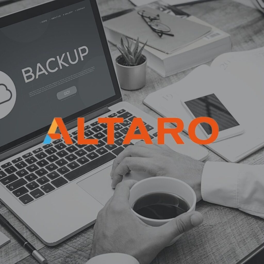 The team at Charlton Networks are Altaro Partners